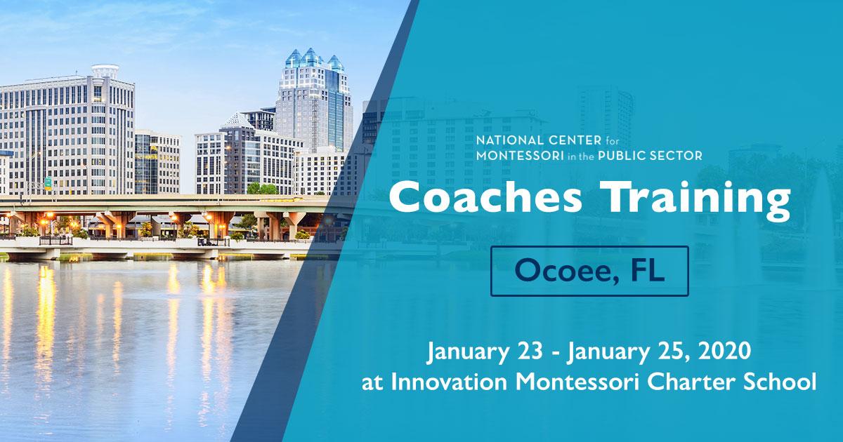 Montessori Coaches Training in Ocoee, FL