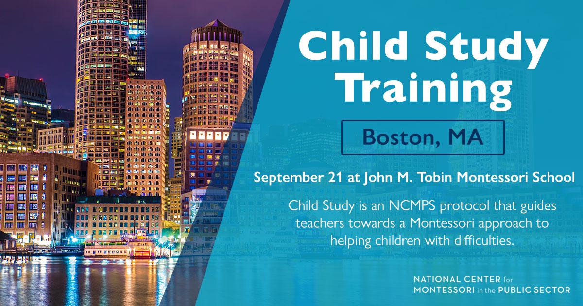 Montessori Child Study Training (Boston, MA)