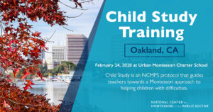 Montessori Child Study Training (Oakland, CA)