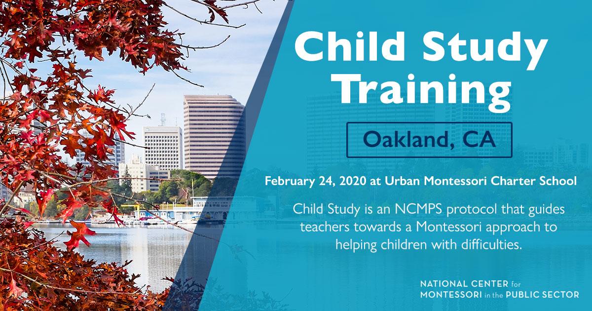 Montessori Child Study Training (Oakland, CA)