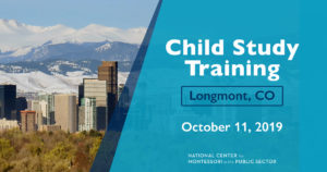 Child Study Training in Longmnt, CO