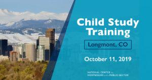 Child Study Training in Longmnt, CO