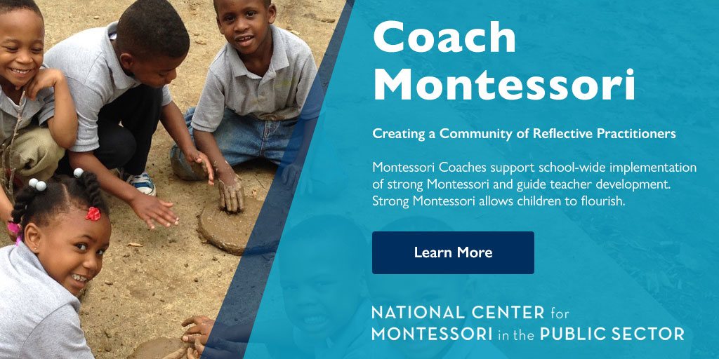 Coach Montessori - National Center for Montessori in the