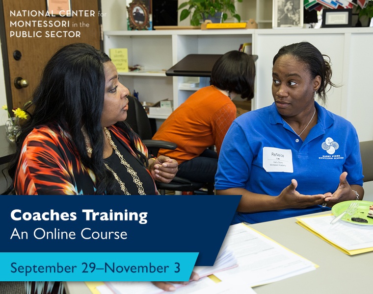 Coaches Training: An Online Course (September 29–November 3)