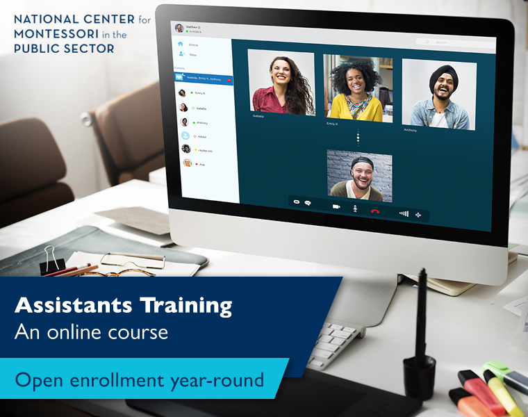 Assistants Training - An online course (Open enrollment year-round)