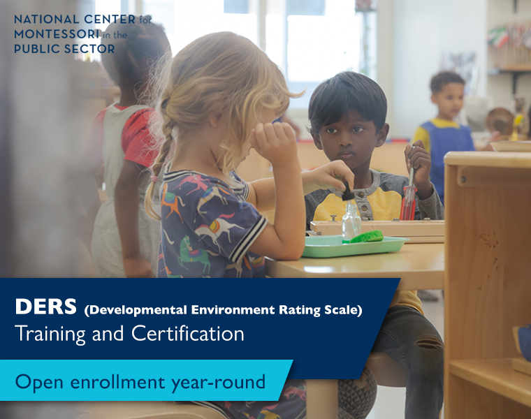 DERS – Developmental Environment Rating Scale Training and Certification
